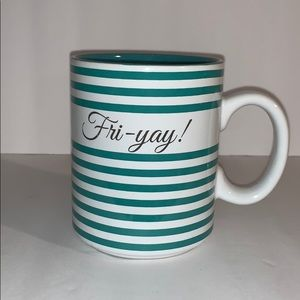 """""""FRI-YAY"""" coffee mug"""